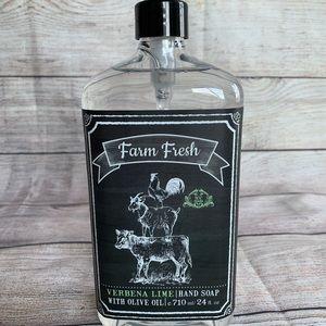 🌼 H & B Co. Farm Fresh Verbena Lime Hand Soap